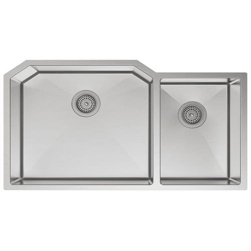Kohler Strive Stainless Steel Two Bowl Kitchen Sink - 5282-NA