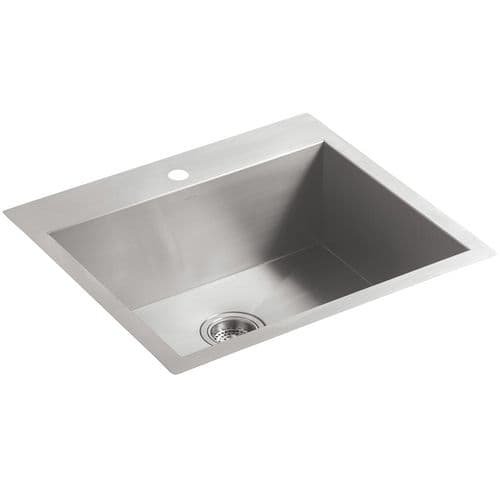 Kohler Vault 3822-1-NA Medium Stainless Steel Kitchen Sink