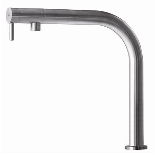 MGS Nemo RH High Stainless Steel Kitchen Tap
