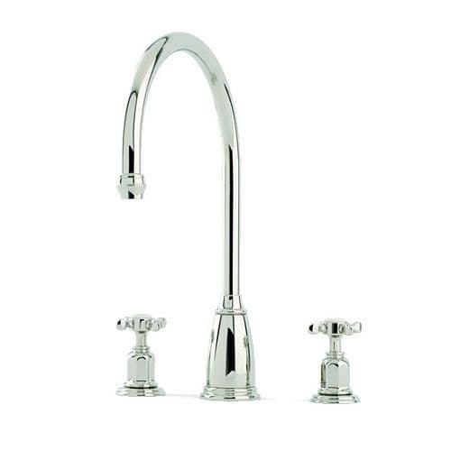 Perrin and Rowe Athenian Capstan Handle 3 Hole Tap