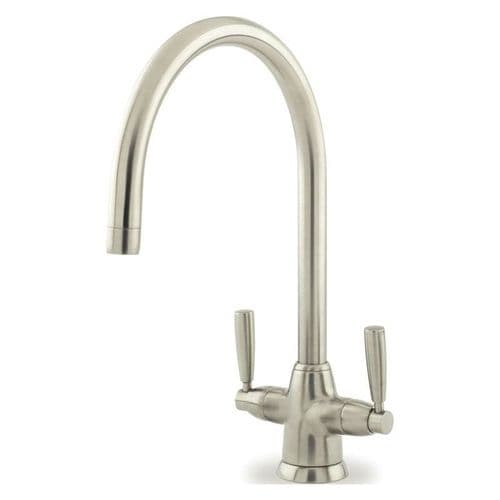 Perrin and Rowe Metis C Spout Monobloc Kitchen Tap