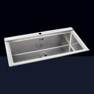 Single Bowl Inset Sinks without Drainer