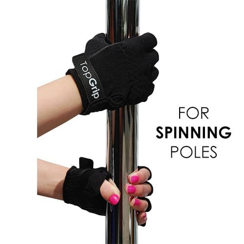 TopGrip Gloves for Spinning Poles (Tack)