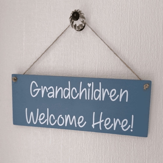 Personalised Outdoor Garden Sign