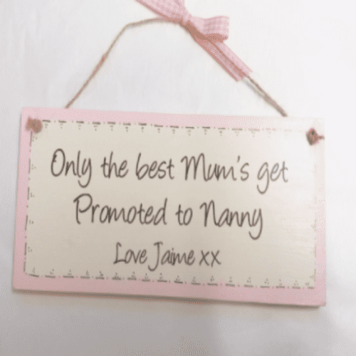 Personalised Wooden Plaque - Only The Best