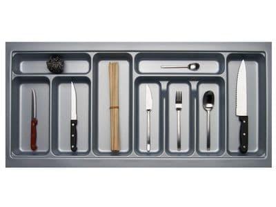 1000mm Wide 450mm Deep Blum Tandembox Cutlery Insert - Grey