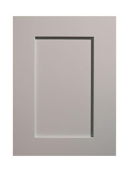 450x597mm Mornington Shaker Partridge Grey Door