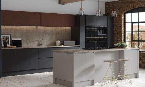 Aconbury Matt Graphite Kitchens