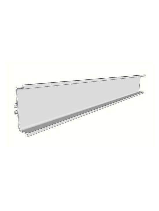 Aluminium mid profile for drawers, 4100x73x26mm -  Handleless Rail Profiles