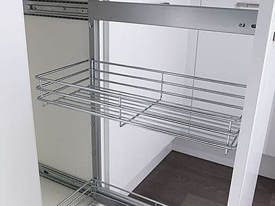 Classic additional tray for 300mm wide pull-outs, chrome