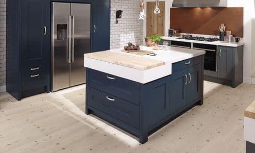 Fitzroy Hartforth Blue Kitchens