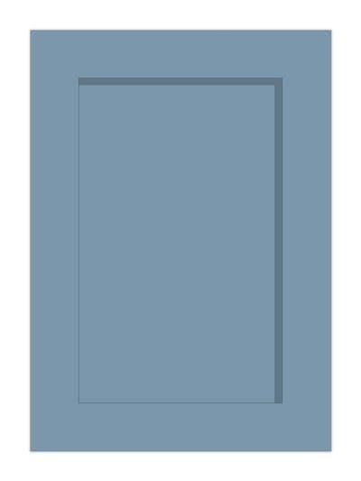 Fitzroy Storm Blue Sample door - 570x397mm