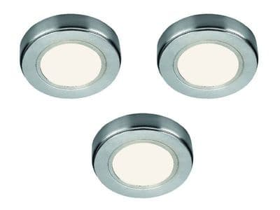 Hype HD LED Recess/Surface Light Warm White, pack of 3 & Driver