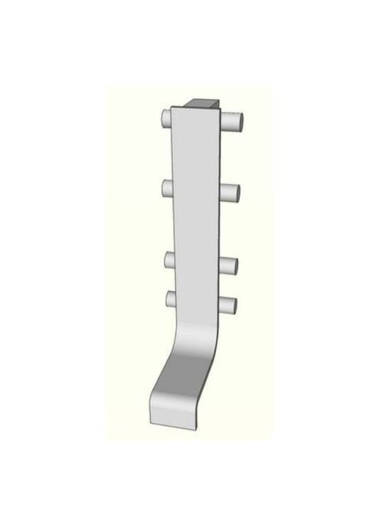 Mid joint section for aluminium top profile -  Handleless Rail Profiles