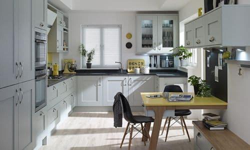 Milbourne Partridge Grey Kitchens