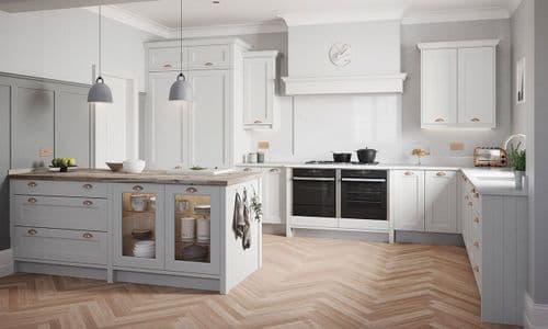 Mornington Beaded Dove Grey Kitchens
