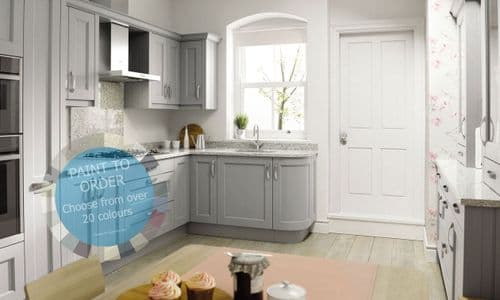 Mornington Beaded Paint To Order Kitchens