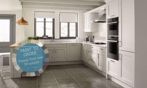 Mornington Shaker Paint To Order Kitchens