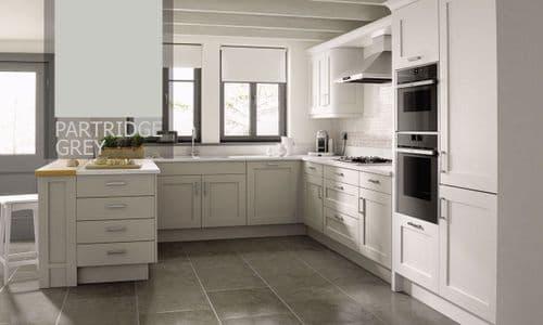 Mornington Shaker Partridge Grey Kitchens