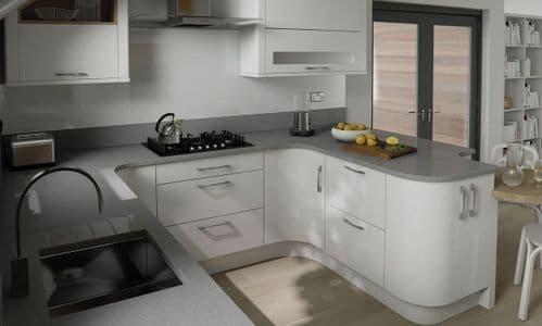 Porter Gloss White Kitchens