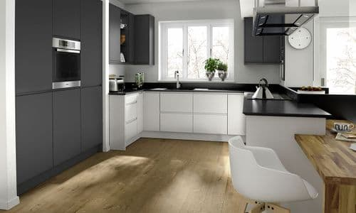 Remo Matt Graphite Kitchens