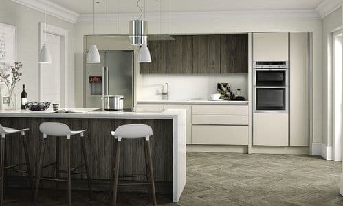 True Handleless Gloss Cashmere Kitchens
