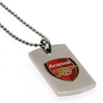Arsenal Colour Crest Dog Tag