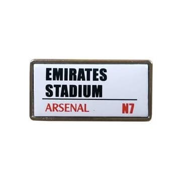 Arsenal Emirates Stadium Badge SS