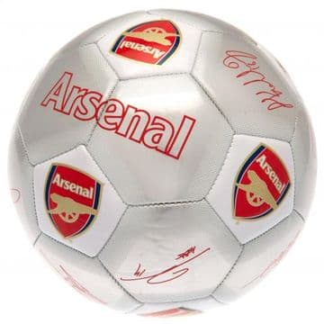 Arsenal Football with Signatures SV