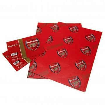 Arsenal Gift Wrapping Paper