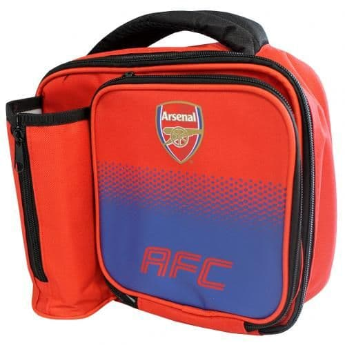 Arsenal FC Lunch Bag Fade | Lunch Box | AFC Merchandise [ Football Gifts Shop ]