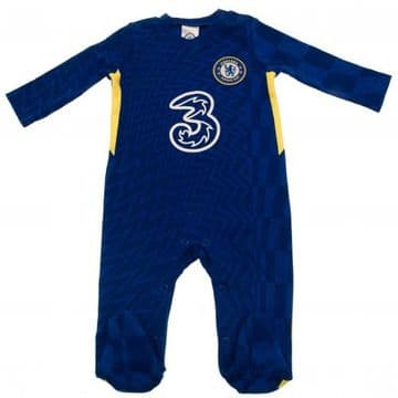 Chelsea FC Baby Sleepsuit BY 0-3 Months