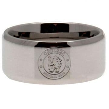 Chelsea FC Band Ring Large