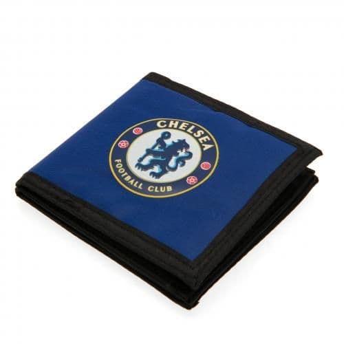 Chelsea FC Nylon Canvas Wallet | CFC Merchandise [ Football Gifts Shop ]
