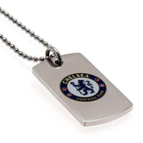 Chelsea FC Colour Crest Dog Tag | Merchandise | CFC Football Gifts Shop
