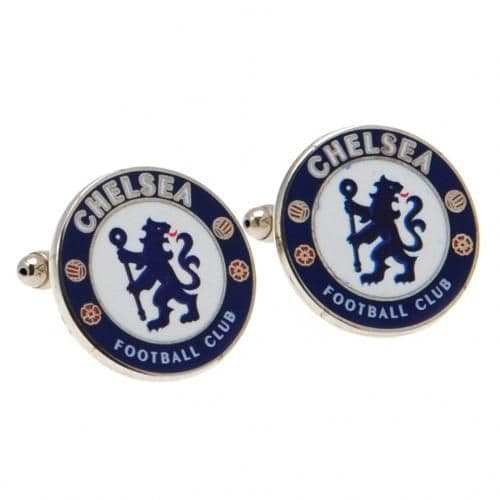 Chelsea FC Cufflinks | CFC Football Gifts for Men [ Football Gifts Shop ]