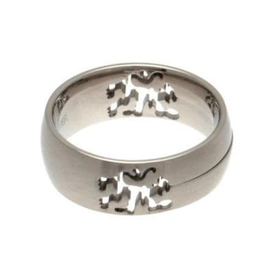 Chelsea FC Cut Out Ring Large - Size X | Chelsea FC Jewellery