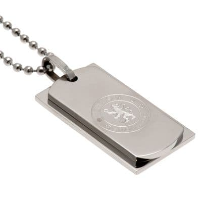 Chelsea FC Double Dog Tag | CFC Merchandise [ Football Gifts Shop ]