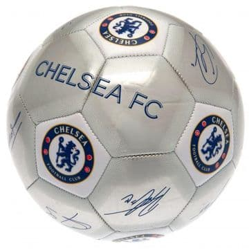 Chelsea FC Football with Signatures SV
