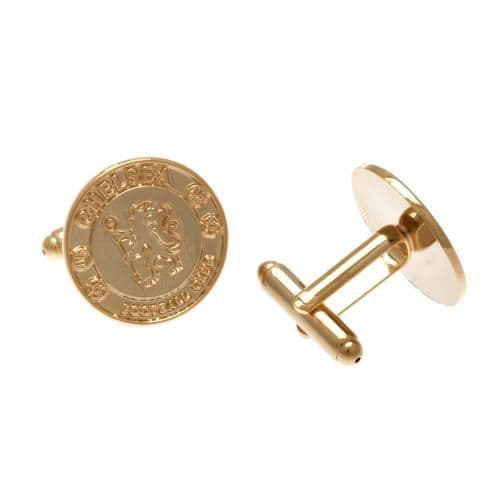 Chelsea FC Gold Cufflinks | CFC Merchandise | Gifts for Men