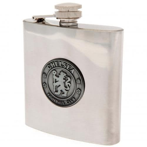Chelsea FC Hip Flask | CFC Merchandise [ Football Gifts for Men ]