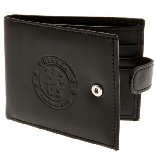 Chelsea FC Leather Wallet | CFC Merchandise [ Football Gifts for Men ]