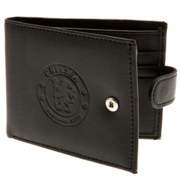 Chelsea FC Leather Wallet with Anti-Fraud