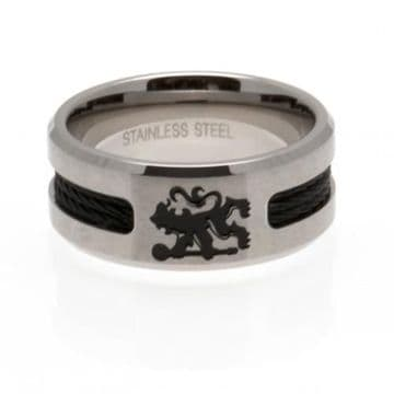 Chelsea FC Ring with Black Inlay - Large