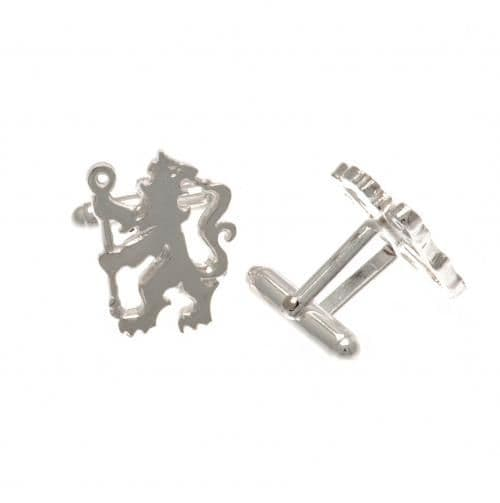 Chelsea FC Sterling Silver Lion Cufflinks | CFC Merchandise | Football  Gifts Shop