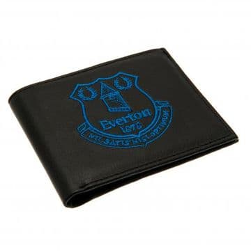 Everton Embroidered Leather Wallet BL