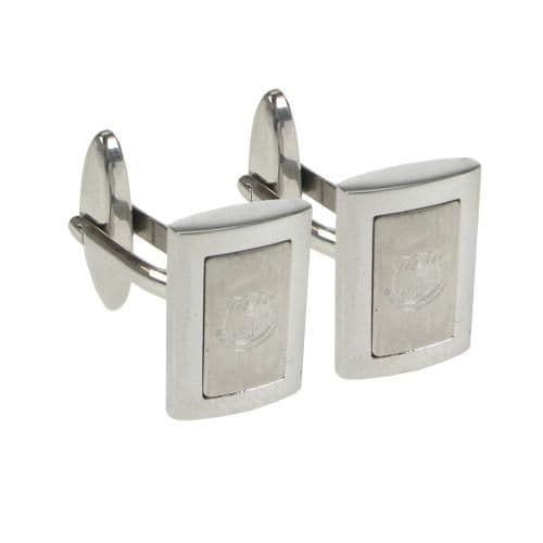 Everton FC Stainless Steel Framed Cufflinks.