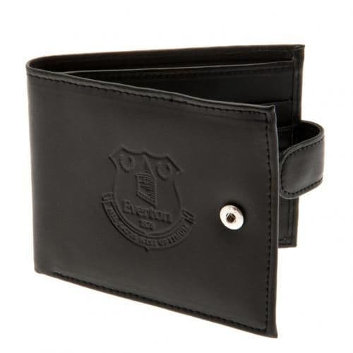 Everton FC Anti-Fraud Leather Wallet | EFC Football Gifts for Men