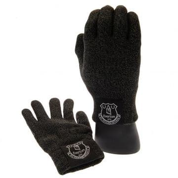Everton Luxury Touchscreen Knitted Gloves (Youths)