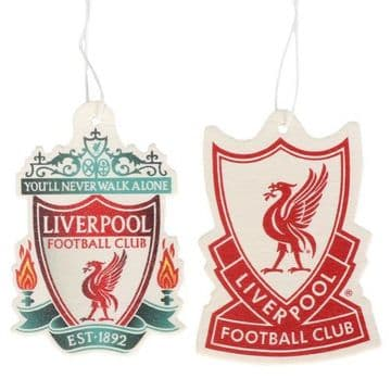 Liverpool FC Air Freshener (2 Pack)